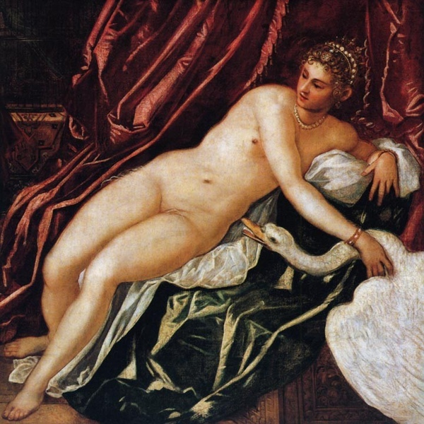 麗達與天鵝Leda and the Swan_丁托列多 Tintoretto (Jacopo Robusti).jpg