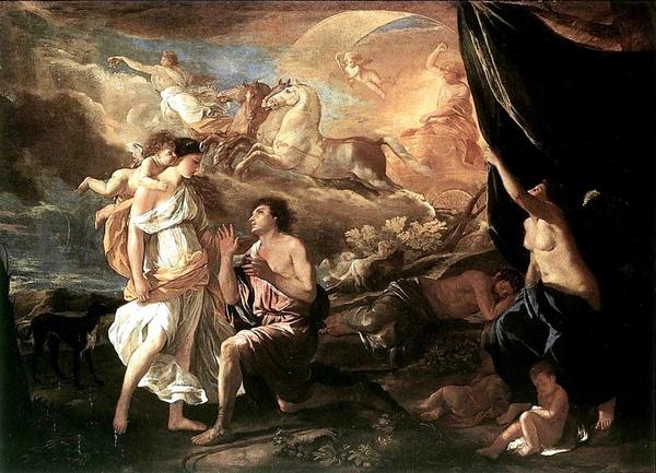 月神和恩狄米翁 Selene and Endymion_尼古拉.普桑 Nicolas Poussin.jpg