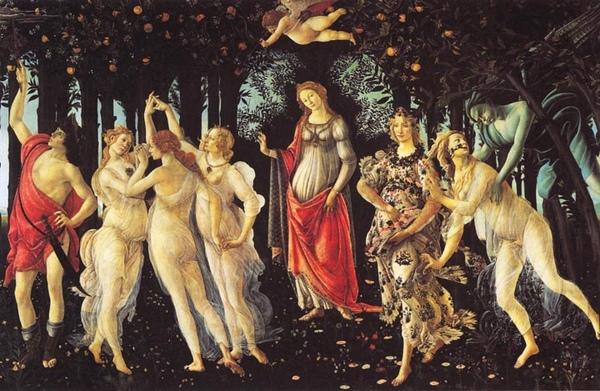 春天 Spring (Primavera)_波提且利 Sandro Botticelli.jpg