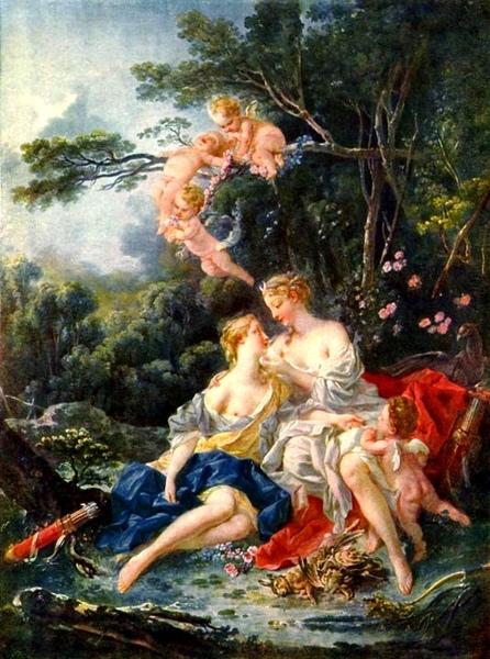 朱比特和卡麗斯托 Jupiter and Callisto_布雪 Francois Boucher.jpg