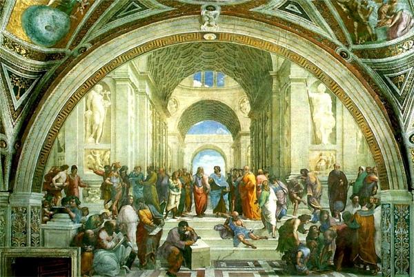 雅典學派 The School of Athens_拉斐爾 Raphael-05x.jpg