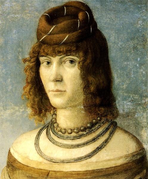 婦人肖像 Portrait of a Woman_卡巴喬 Vittore Carpaccio-09x.jpg
