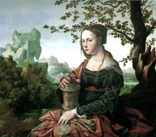 Mary Magdalene 手提沈香瓶的馬利亞_施可樂 Jan Van Scorel 1495-1562 作_阿姆斯特丹‧國立美術館.jpg