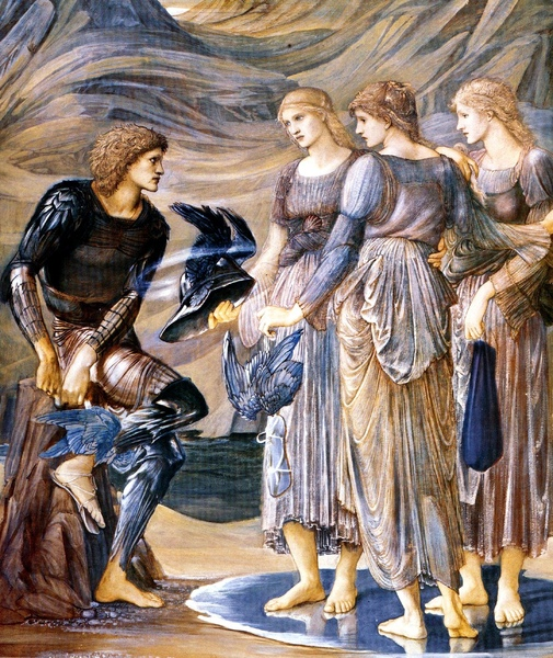 珀耳修斯與三位海之仙女Perseus and the Sea Nymphs_伯恩‧瓊斯Edward Burne-Jones.jpg