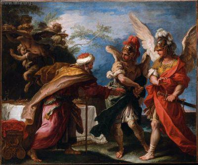 菲紐斯與波瑞阿斯Phineas and Boreads_塞巴斯蒂亞諾·里奇Sebastiano Ricci.jpg