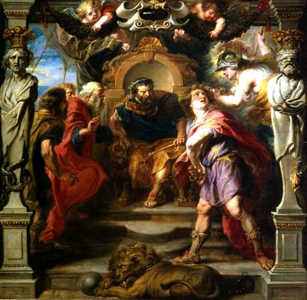 阿基里斯的憤怒 The Wrath of Achilles_魯本斯 Peter Paul Rubens.jpg