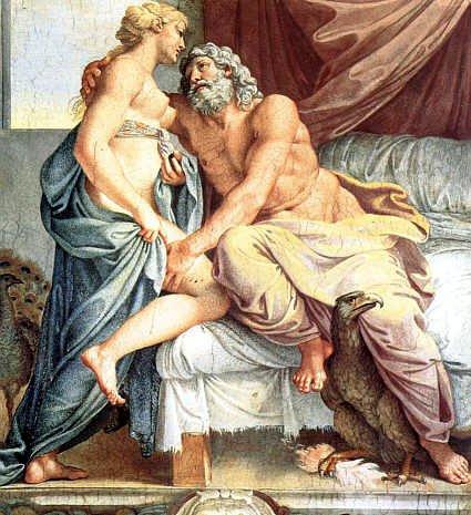 神的愛The Loves of the Gods (Jupiter et Junon)_阿尼巴爾 · 卡拉齊Annibale Carracci.jpg