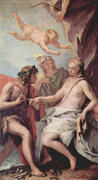 酒神和阿麗雅德妮 Bacchus and Ariadne_利契Ricci, Sebastiano.jpg
