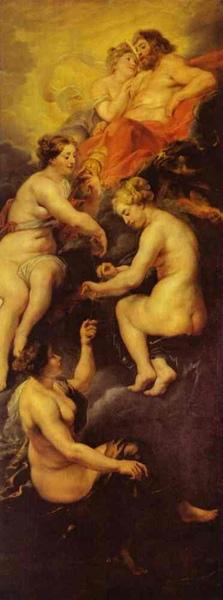 主神后和命運三女神 The Destiny of Marie de' Medici_魯本斯 Peter Paul Rubens.jpg