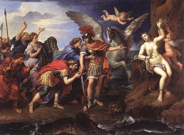 安朵美達和柏修斯Andromeda_and_Perseus_皮爾‧米尼亞爾pierre mignard.jpg