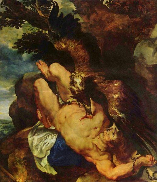 被鷹啄肝的普羅米修斯Prometheuss_魯本斯 Peter Paul Rubens.jpg