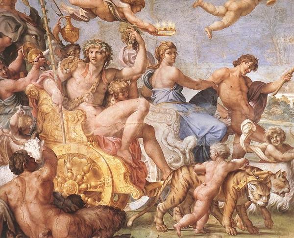 酒神與阿麗雅德妮 的勝利 _阿尼巴爾 · 卡拉齊Annibale Carracci.jpg