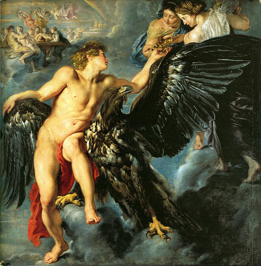 劫奪蓋尼米得Rape of Ganymede - 魯本斯 Rubens, Peter Paul.jpg