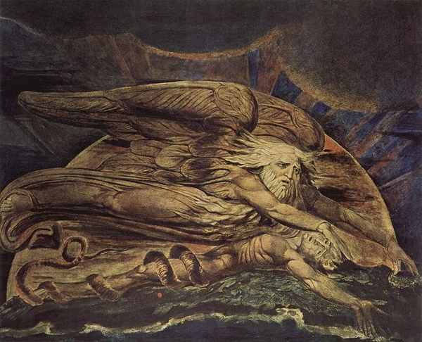 創造亞當 Und Elohim schuf Adam_William Blake.jpg