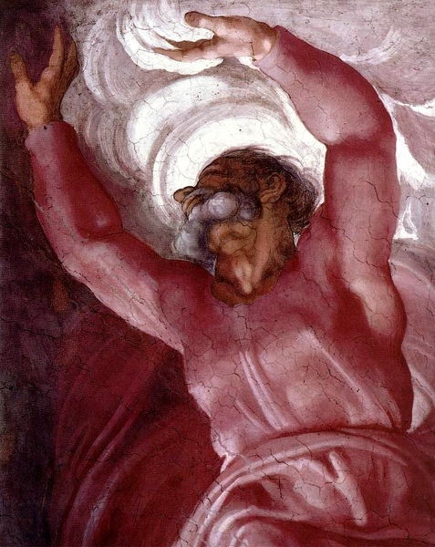 主分光明Separation of Light from Darkness_米開朗基羅 Michelangelo Buonarroti.jpg