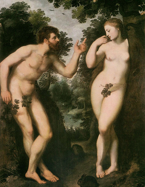 亞當和夏娃Adam and Eve_魯本斯 Peter Paul Rubens.jpg