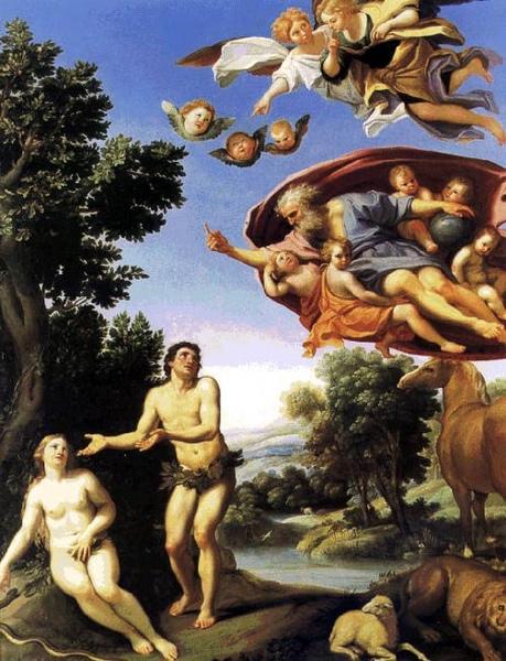 亞當和夏娃Adam and Eve_杜明尼基諾 Domenico Zampieri .jpg