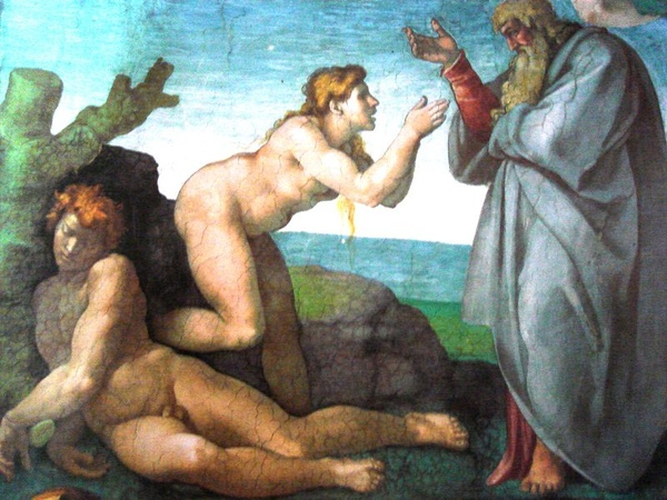 創造夏娃 The Creation of Eve_米開朗基羅 Michelangelo Buonarroti.jpg