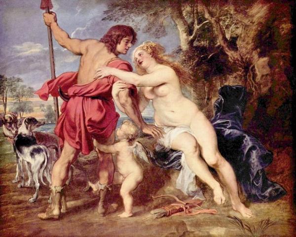 維納斯和亞當尼斯 Venus and Adonis_魯本斯 Peter Paul Rubens.jpg