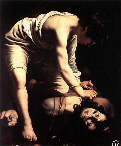大衛戰聖戈利亞 David and Goliath _卡拉瓦喬Caravaggio.jpg