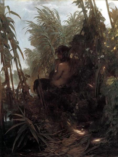 在蘆葦裡的潘恩 pan im schilf_阿諾德‧勃克林 Arnold Böcklin.jpg