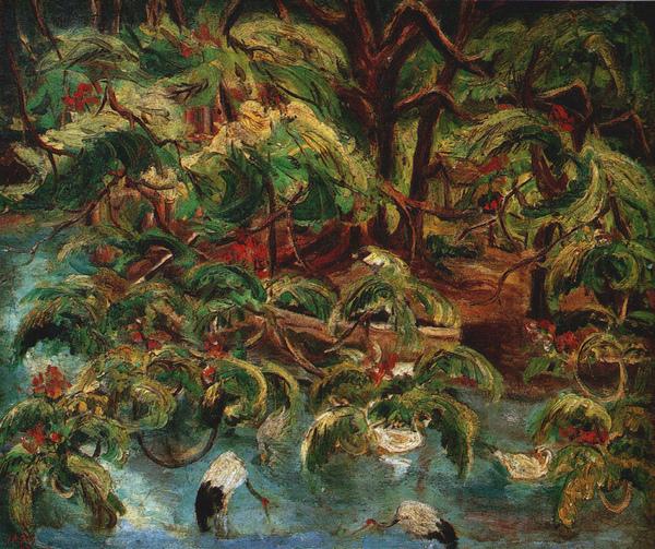 〈嘉義公園〉1937 年_油彩‧畫布,60.5 x 72.5 公分.jpg