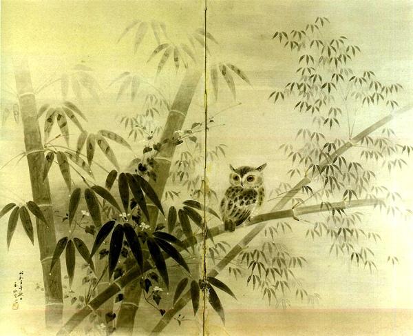 林玉山〈 曉霜 〉1942 年_紙‧彩墨,132 x 159 公分.jpg