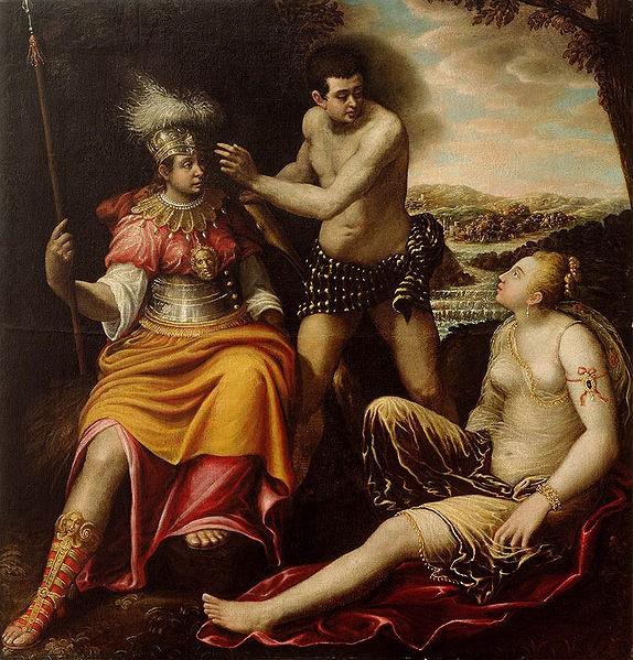 岔路上的海格力斯Hercules at the Crossroads_喬瓦尼 Giovanni , Baglione.jpg