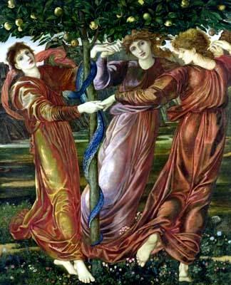 絲佩莉蒂姊妹的花園Garden of the Hesperides伯恩‧瓊斯Edward Burne-Jones_.jpg