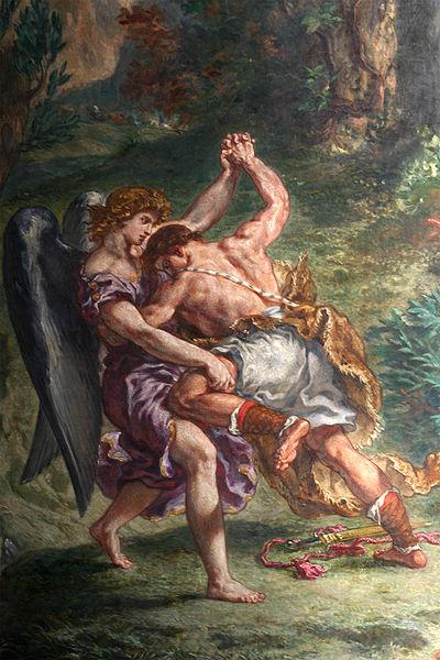 Lutte de Jacob avec l'Ange_米謝‧翁懷 Michel Onfray   .jpg