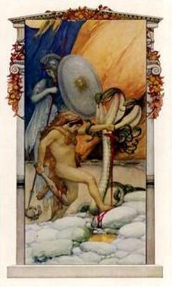海格力斯與九頭蛇Hercules Slays the Hydra of Lerna_勾古艾特GORGUET,A.F..jpg