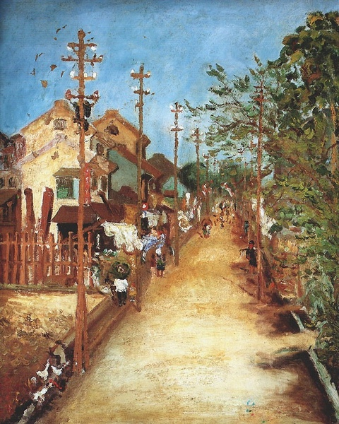 〈嘉義街外〉1926 年_油彩‧畫布,64 x 53 公分.jpg