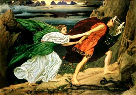 斐斯與尤莉迪絲 Orpheus and Eurydice_波恩特 Sir Edward John Poynter .jpg