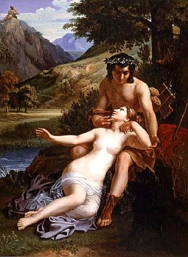 埃西斯和水神卡拉蒂 The Loves of Acis and Galatea_亞歷山大 ・查爾斯Alexandre Charles Guillemot.jpg