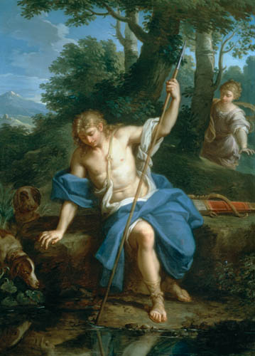 那西賽斯與厄可 Narcissus and Echo _普拉西 Placido Costanzi.jpg