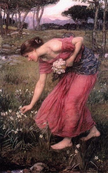 那西賽斯 Narcissus__瓦特豪斯‧約翰‧威廉John William Waterhouse.jpg