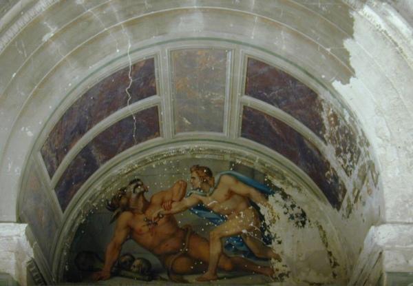 忒修斯殺死彌諾陶洛斯Theseus tötet den Minotaurus_Eduard Daege.jpg