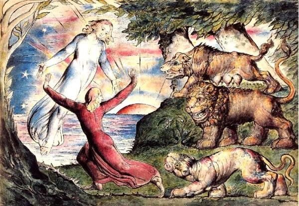 但丁神曲圖示 Dante Inferno_布雷克 William Blake.jpg