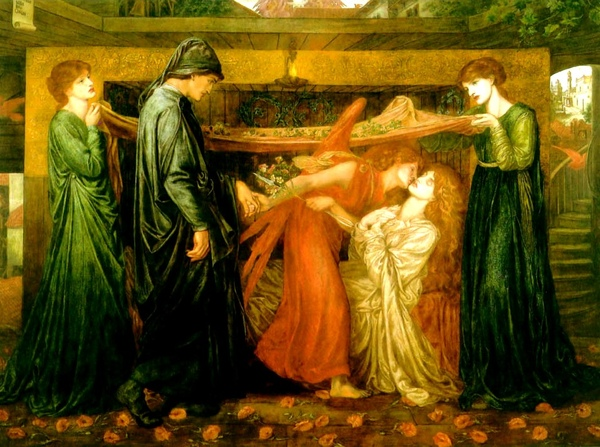 但丁之夢 Dante`s Dream at the Time of the Death of Beatrice_羅塞蒂 Dante Gabriel Rossetti.jpg