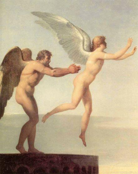 伊卡洛斯與代達羅斯Icarus and Daedalus_查爾斯・保羅・蘭德勒Charles Paul Landon.jpg