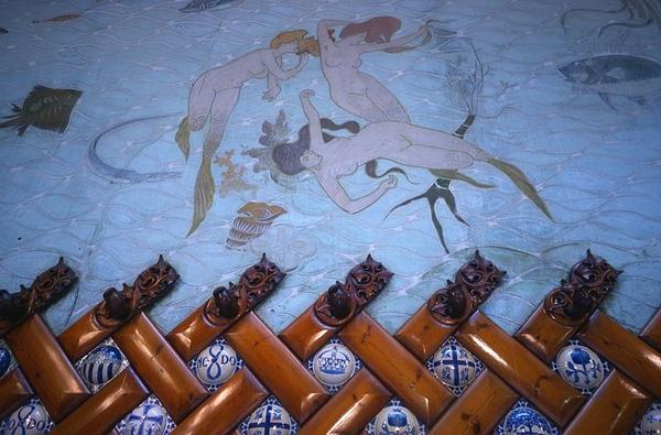 美人魚mermaids_The dining room at Hotel España by Masterpiece from Lluís Domènech i Montaner .jpg
