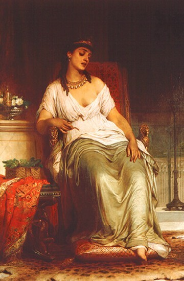 克麗奧佩托拉Cleopatra_弗蘭克・迪克西  Sir Frank Dicksee.jpg