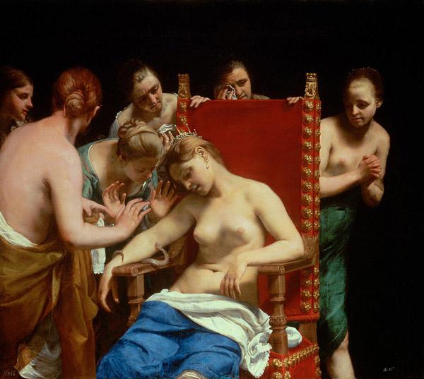 埃及豔后之死 Death of Cleopatra_Guido Cagnacci_圭多卡格納西Guido Cagnacci.jpg