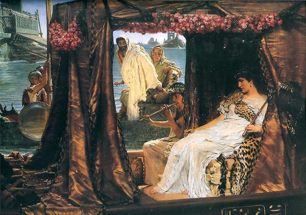 安東尼與克麗奧佩托拉Anthony and Cleopatra_勞倫斯・阿爾馬Lawrence Alma-Tadema.jpg