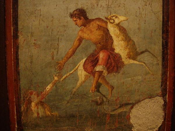 弗里克索斯和赫勒 Phrixos and Helle_古老羅馬壁畫,龐貝城,意大利.jpg