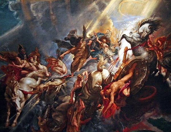 法厄同的墜落Fall of Phaeton_魯本斯Peter Paul Rubens .jpg