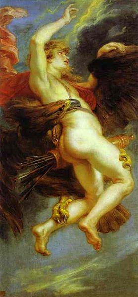 劫奪蓋尼米得 The Rape of Ganymede, by Rubens.jpg