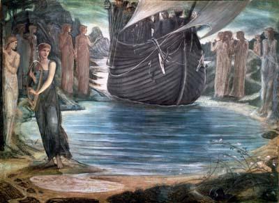 塞壬The Sirens_伯恩‧瓊斯Edward Burne-Jones .jpg