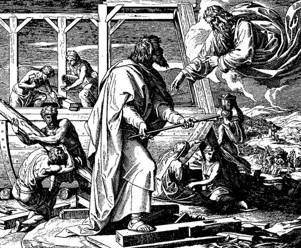 諾亞建構方舟Die Bibel in Bildern_朱利Julius Schnorr von Carolsfeld.png