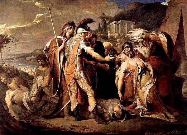 李爾王慟哭柯蒂麗亞之死König Lear beweint Cordelia_ 詹姆斯‧拜利James Barry.jpg